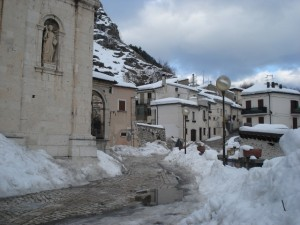Old town of Castel di Sangro