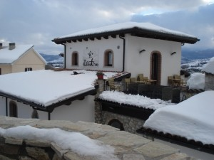 Hotel Lavatoio in the snow