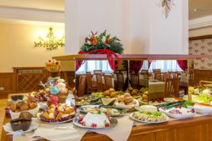 Hotel Trieste breakfast