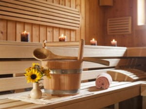 Sport Village Hotel sauna