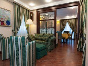 Hotel Petite Fleur lounge