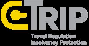 Trip logo white