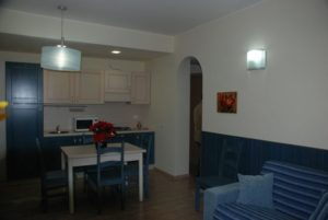 Apartments I Narcisi kitchen
