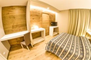 Grand Hotel Europa superior double bedroom